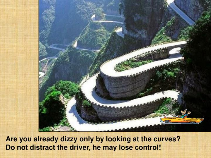 Are you already dizzy only by looking at the curves?