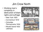 jim crow north