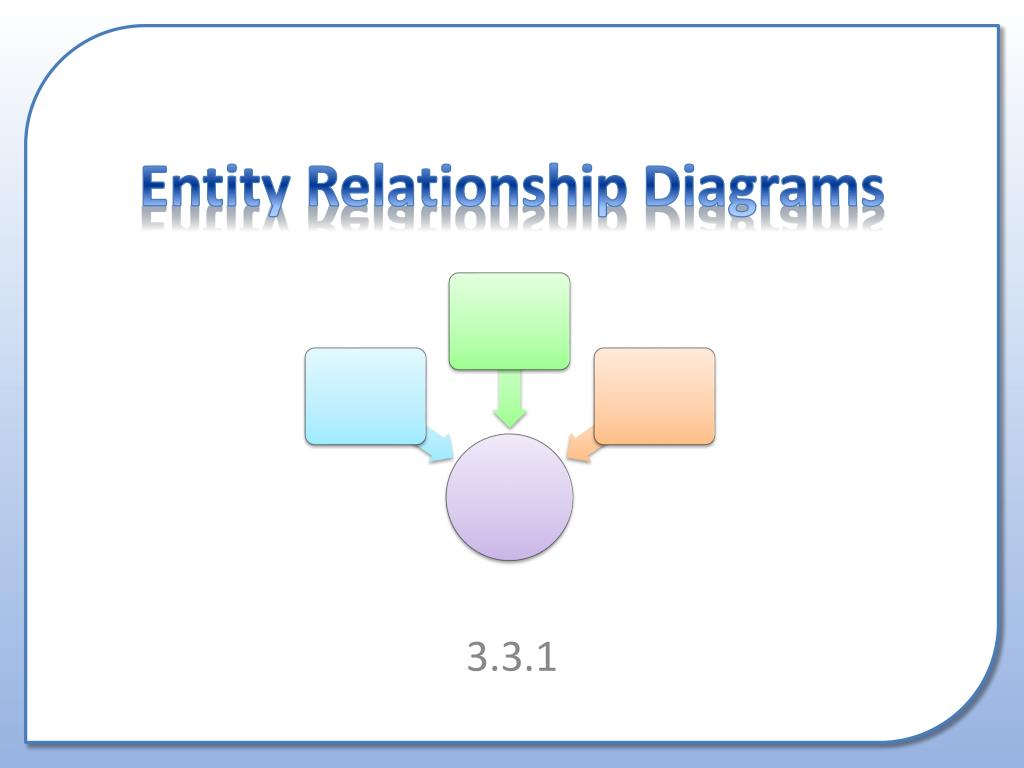 Ppt Entity Relationship Diagrams Powerpoint Presentation Free Download Id 6906693