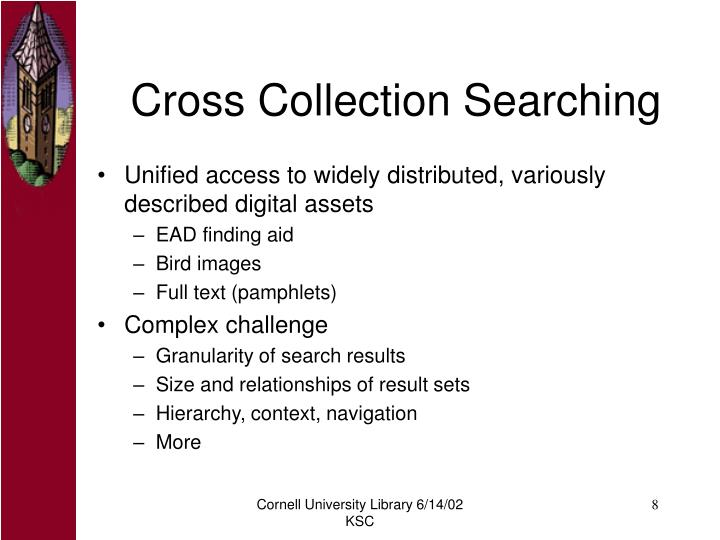 Cross Collection Searching