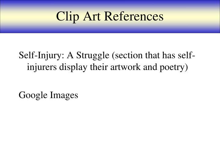 Clip Art References