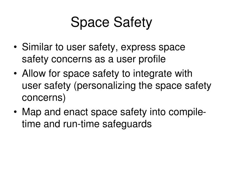 Space Safety