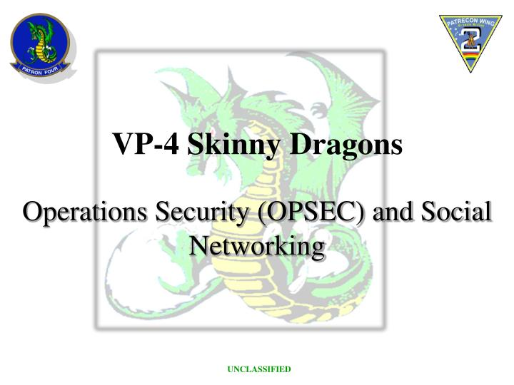 operations security opsec and social networking n.