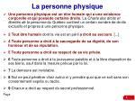 la personne physique1