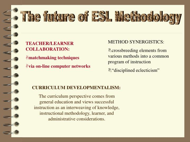 Ppt Esl Methodology Powerpoint Presentation Id6908743