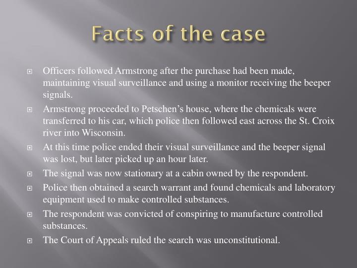 Facts of the case1