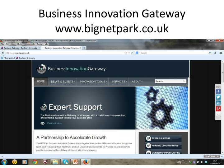 Business Innovation Gateway
