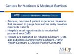 centers for medicare medicaid services