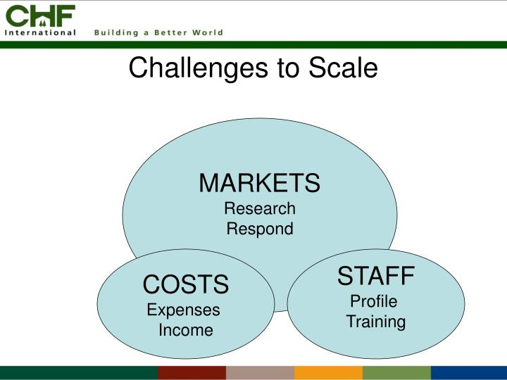 Challenges to Scale