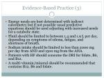 evidence based practice 31