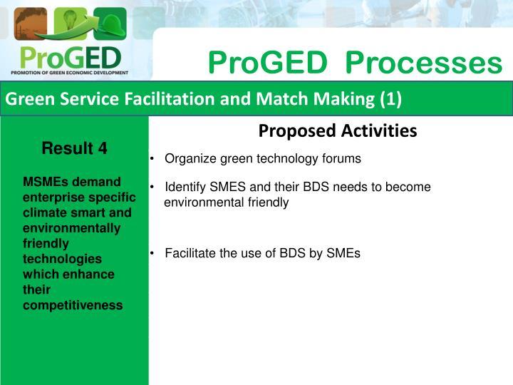 Green Service Facilitation and Match Making (1)