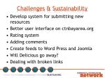 challenges sustainability