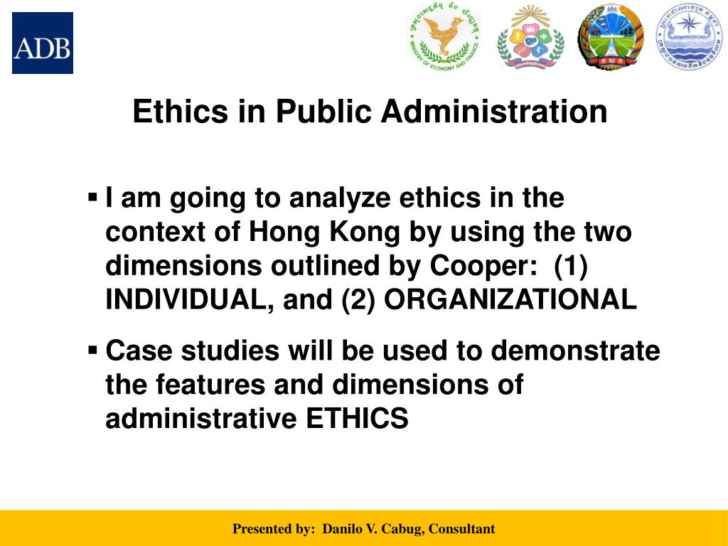 examples of ethical dilemmas in public administration