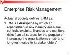 enterprise risk management1