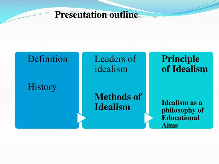 idealism and aims of education