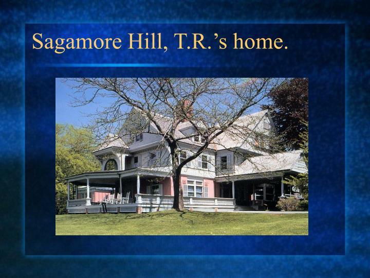 Sagamore Hill, T.R.'s home.