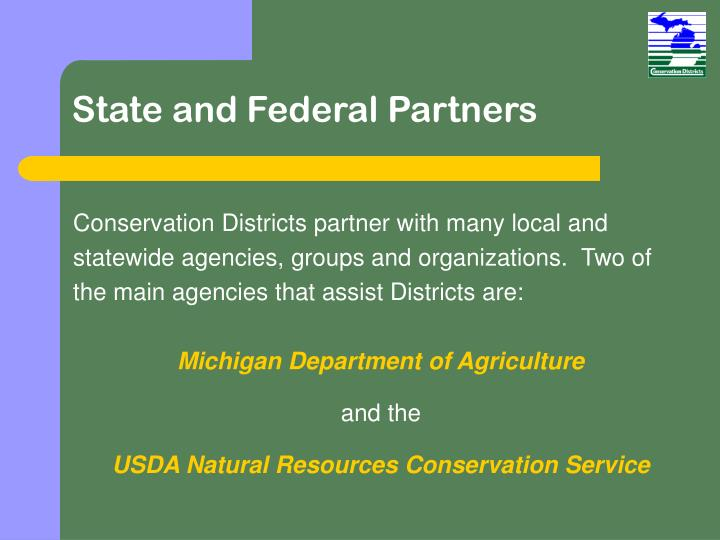 State and Federal Partners