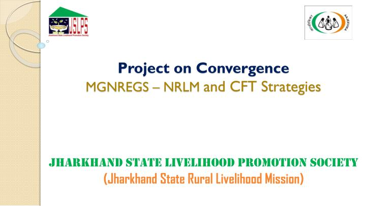 project on convergence mgnregs nrlm and cft strategies n.