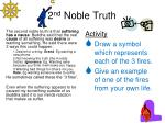 2 nd noble truth