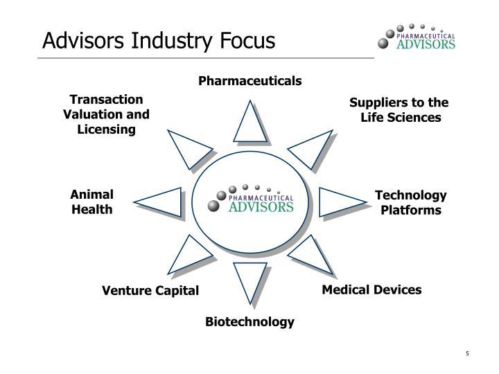 Advisors Industry Focus