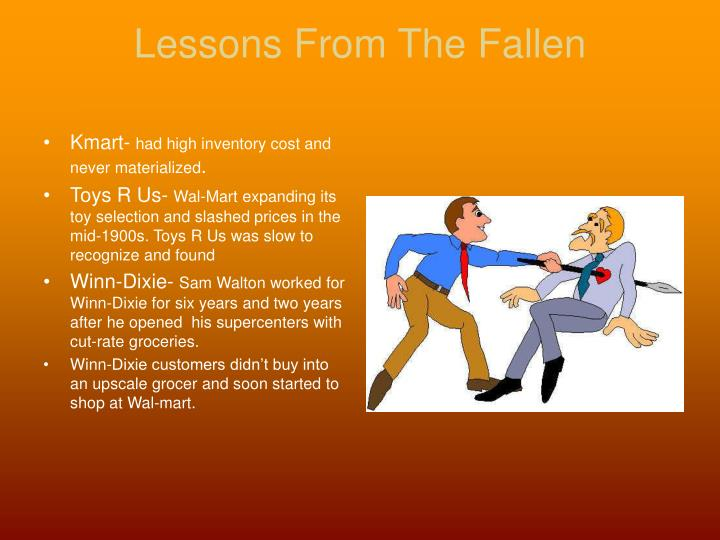 Lessons From The Fallen
