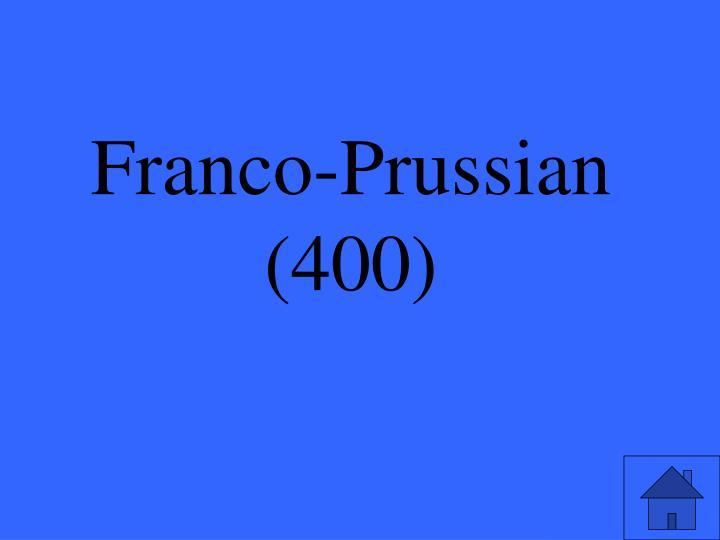 Franco-Prussian