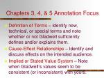 chapters 3 4 5 annotation focus3