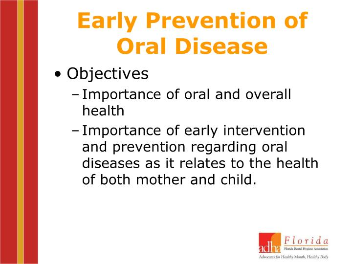 Early Prevention of