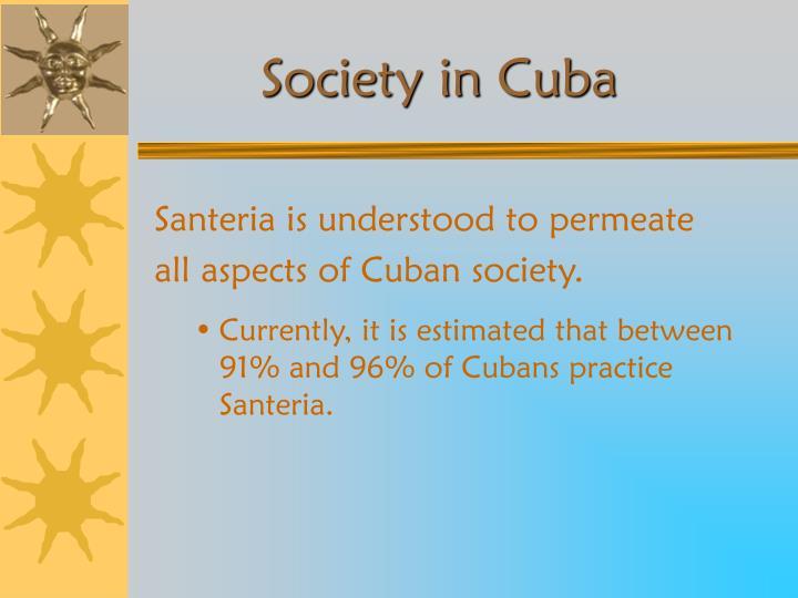 Society in Cuba