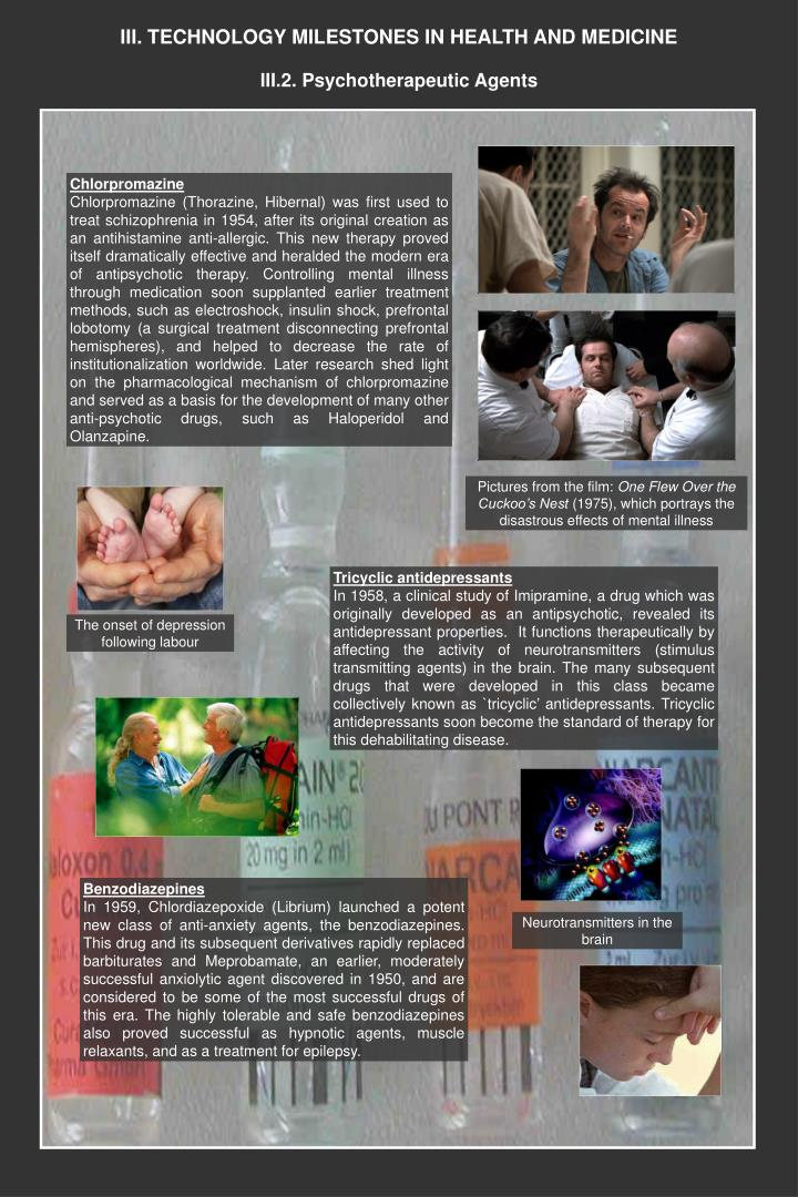 Iii technology milestones in health and medicine1