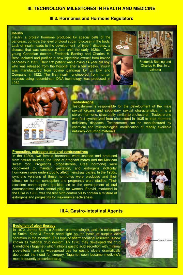 Iii technology milestones in health and medicine2