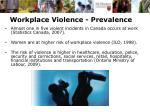 workplace violence prevalence