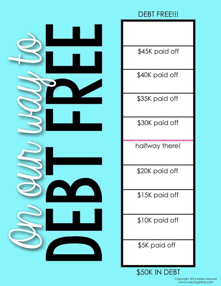 DEBT FREE!!!