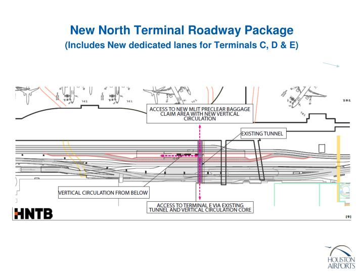 New North Terminal Roadway Package