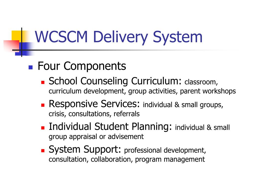 PPT - The Wisconsin Comprehensive School Counseling Model