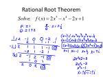 rational root theorem3