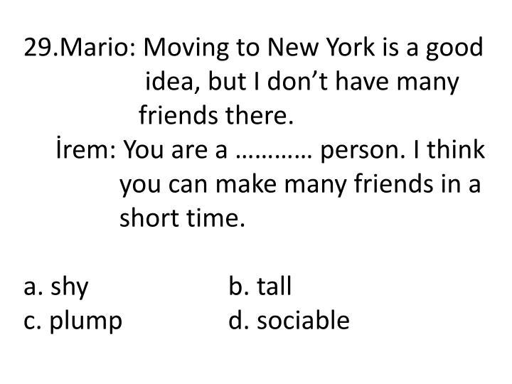 29.Mario: