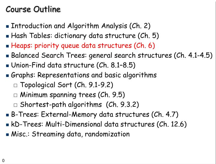 analysis of a data structure the spanning tree Minimum spanning trees ii data structures involved in the analysis that follows, we will not use these optimizations.