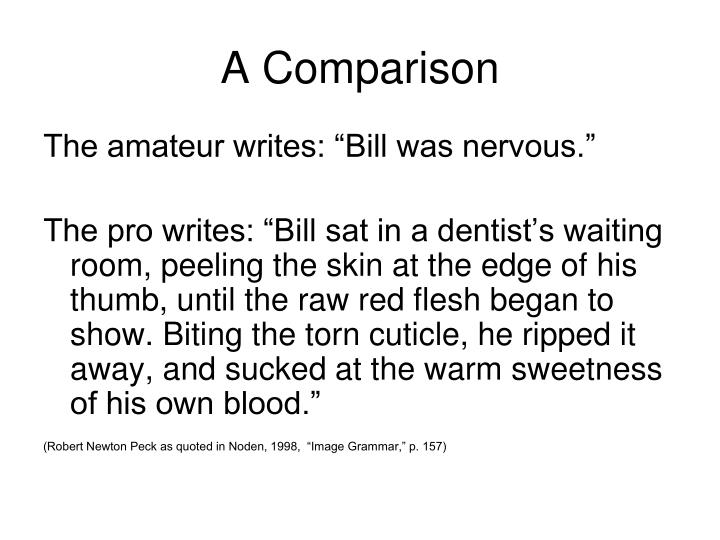 A comparison1