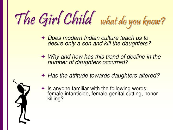 The girl child what do you know