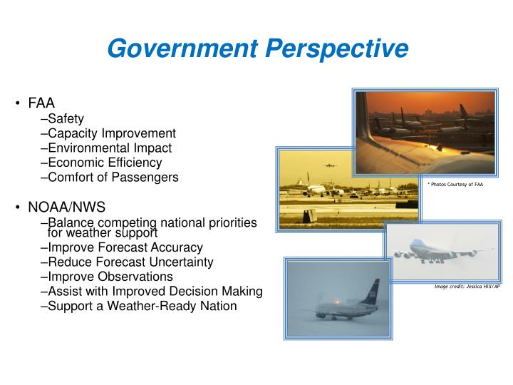 Government Perspective