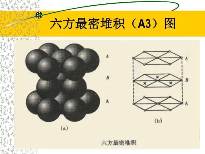 六方最密堆积(