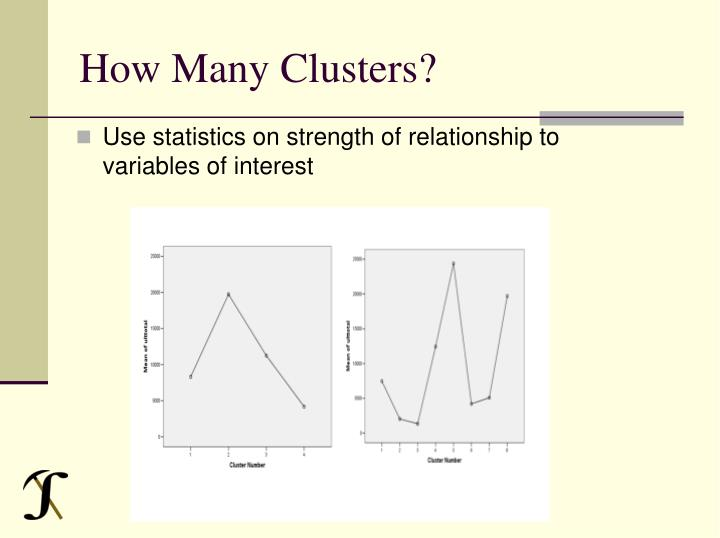 How Many Clusters?
