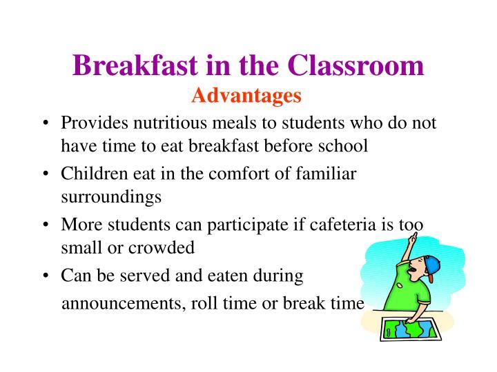 Breakfast in the Classroom