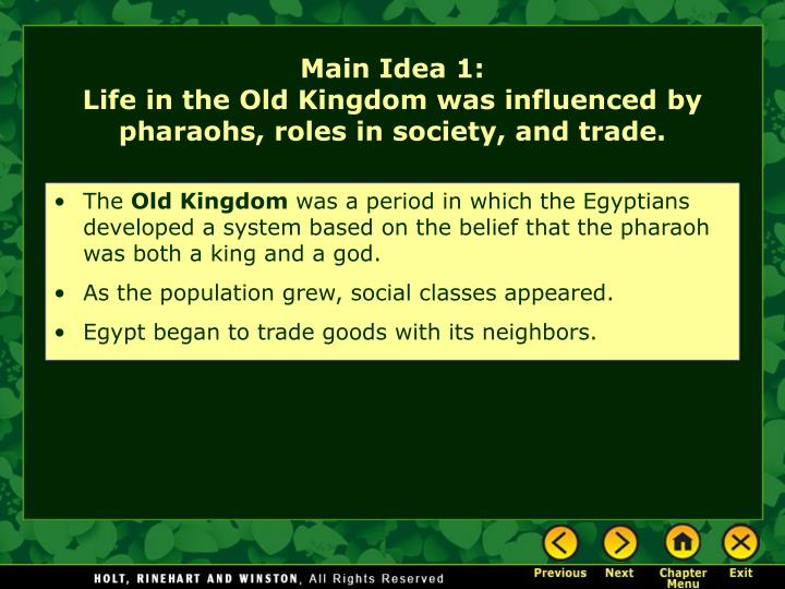 the role of the pharoah in Pharaoh is the common title of the monarchs of ancient egypt from the first  dynasty (c  one of the roles of the pharaoh was as an intermediary between  the gods and the people the pharaoh thus deputised for the gods his role was  both as.
