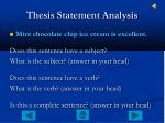 thesis statement analysis1