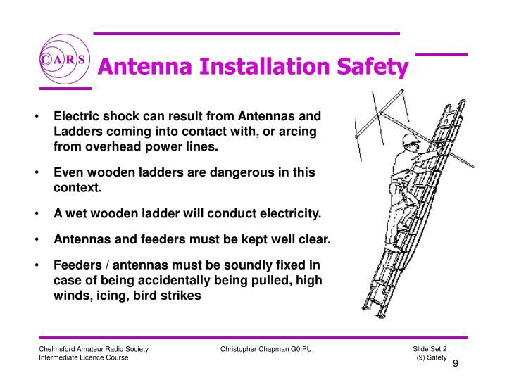 Antenna Installation Safety