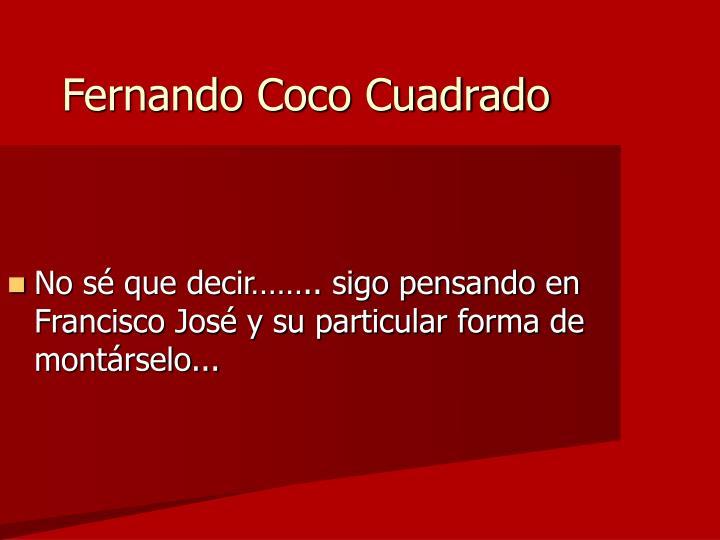 Fernando Coco Cuadrado