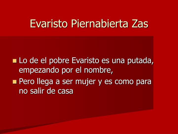 Evaristo Piernabierta Zas