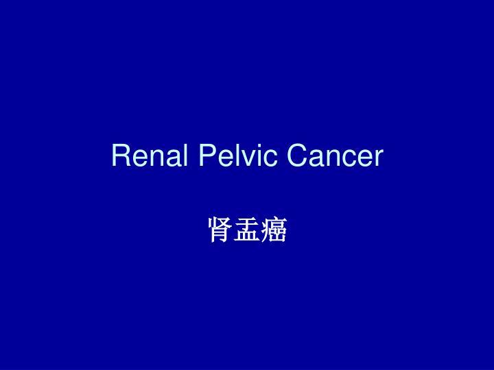 Renal Pelvic Cancer